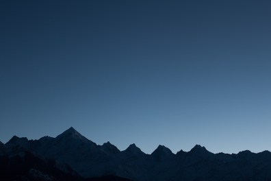 Panchchuli peaks set to welcome the sun