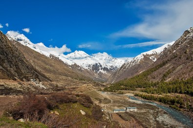 Chitkul - Last village near Indo-China border in Kinnaur region