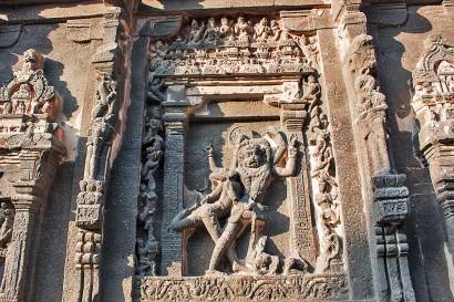Lord Vishnu in Narasimha avatar