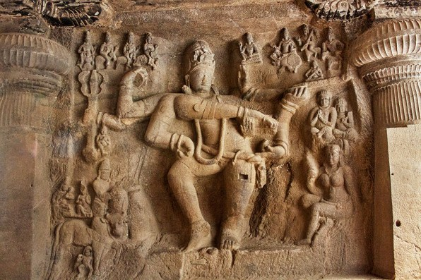 Lord Shiv dancing as 'Natraj'