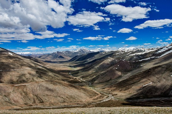 Taglang La Pass 17500ft - World's second highest motor able road