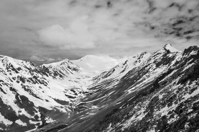 Glacier near Khardungla Pass