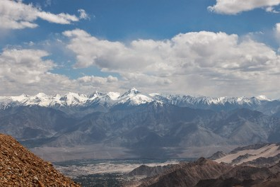 View of Stok Kangri 20100ft