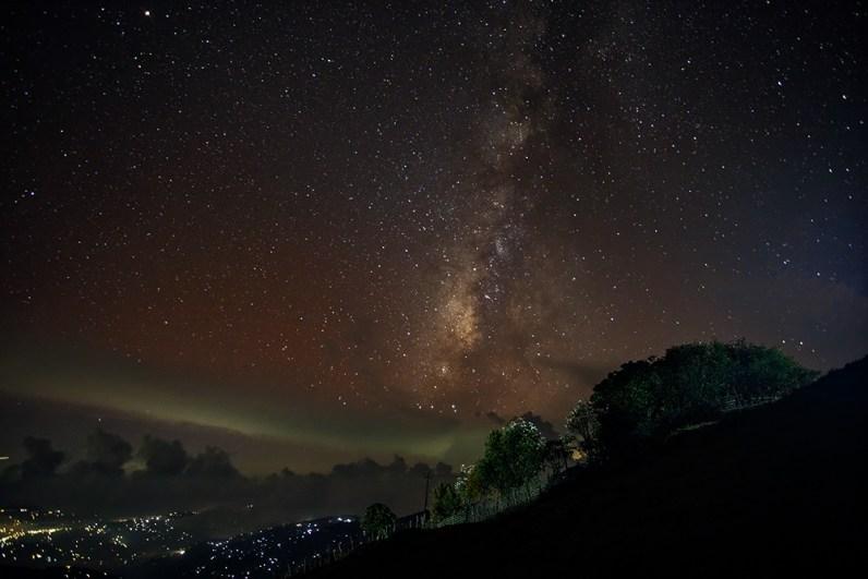 Milky Way Tumling