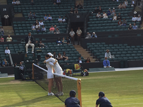 Fun at Wimbledon