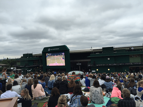 On Tim Henman Hill