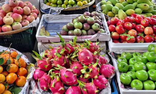 Frutas y verduras para frenar el estrés
