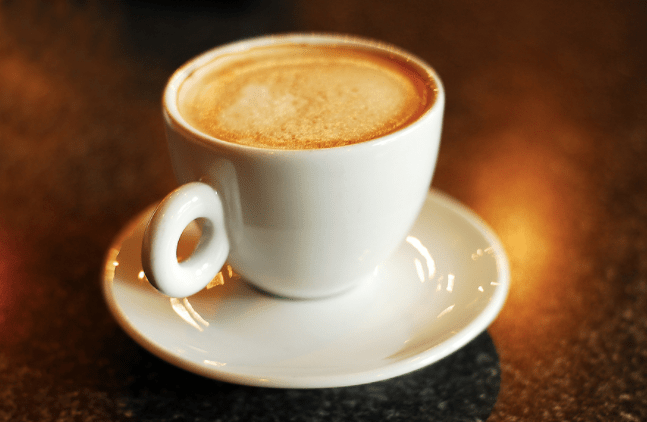 café «rocket fuel» latté keto cétogène