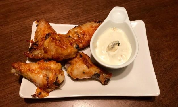 ailes de poulet au parmesan