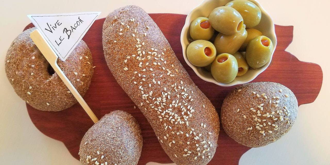 Petits pains «dietdoctor»