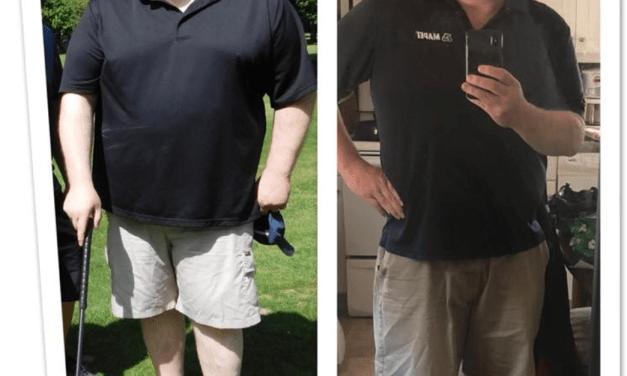 66 lbs en 180 jours!
