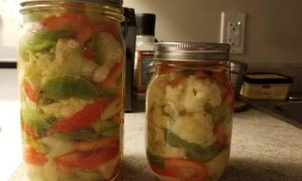 Marinade de légumes