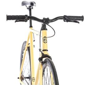 6ku trendy bike fixie fixedgear simple nice flipflop singlespeed creme
