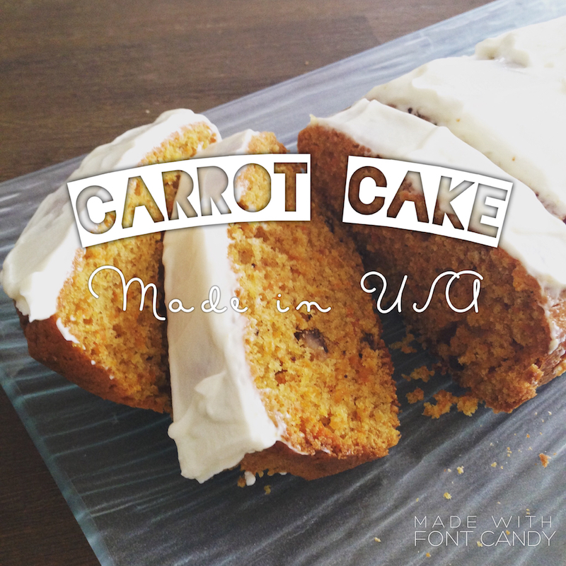 Recette du Carrot cake made in USA