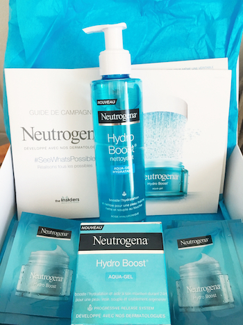 Nouvelle gamme Neutrogena: Hydro Boost
