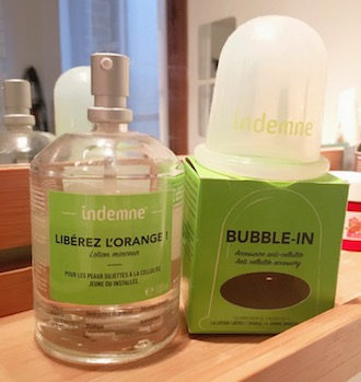 Mes produits Indemne : Libérez l'orange et la Bubble In