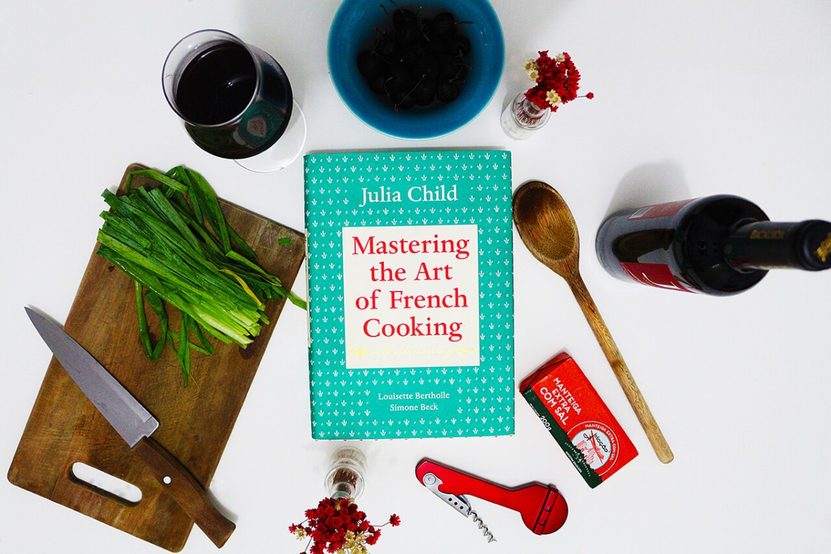 Cozinhando as receitas da Julia Child - Mastering the Art of French Cooking