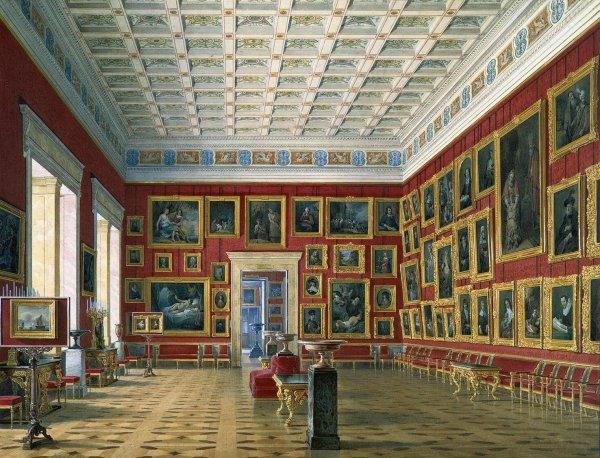 Paintings Hermitage Museum Room