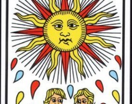 carta sol tarot le soleil