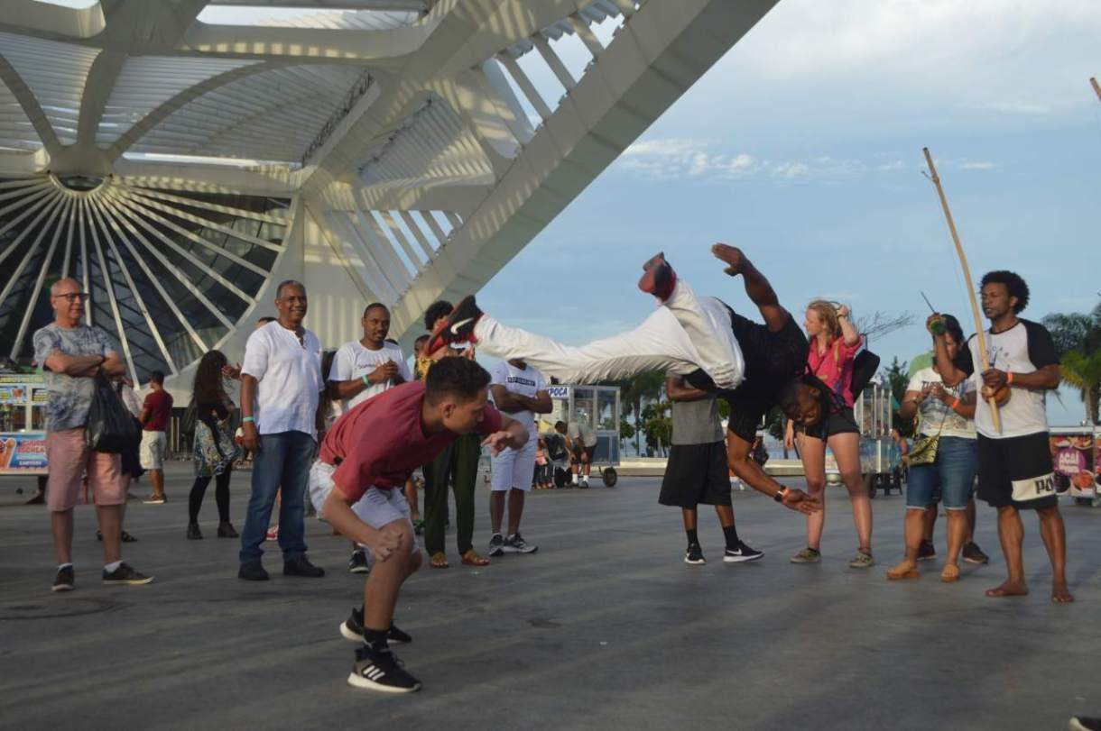 Capoeira é cultura no RJ