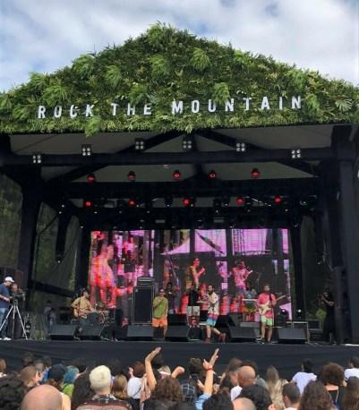 Biltre no Rock The Mountain