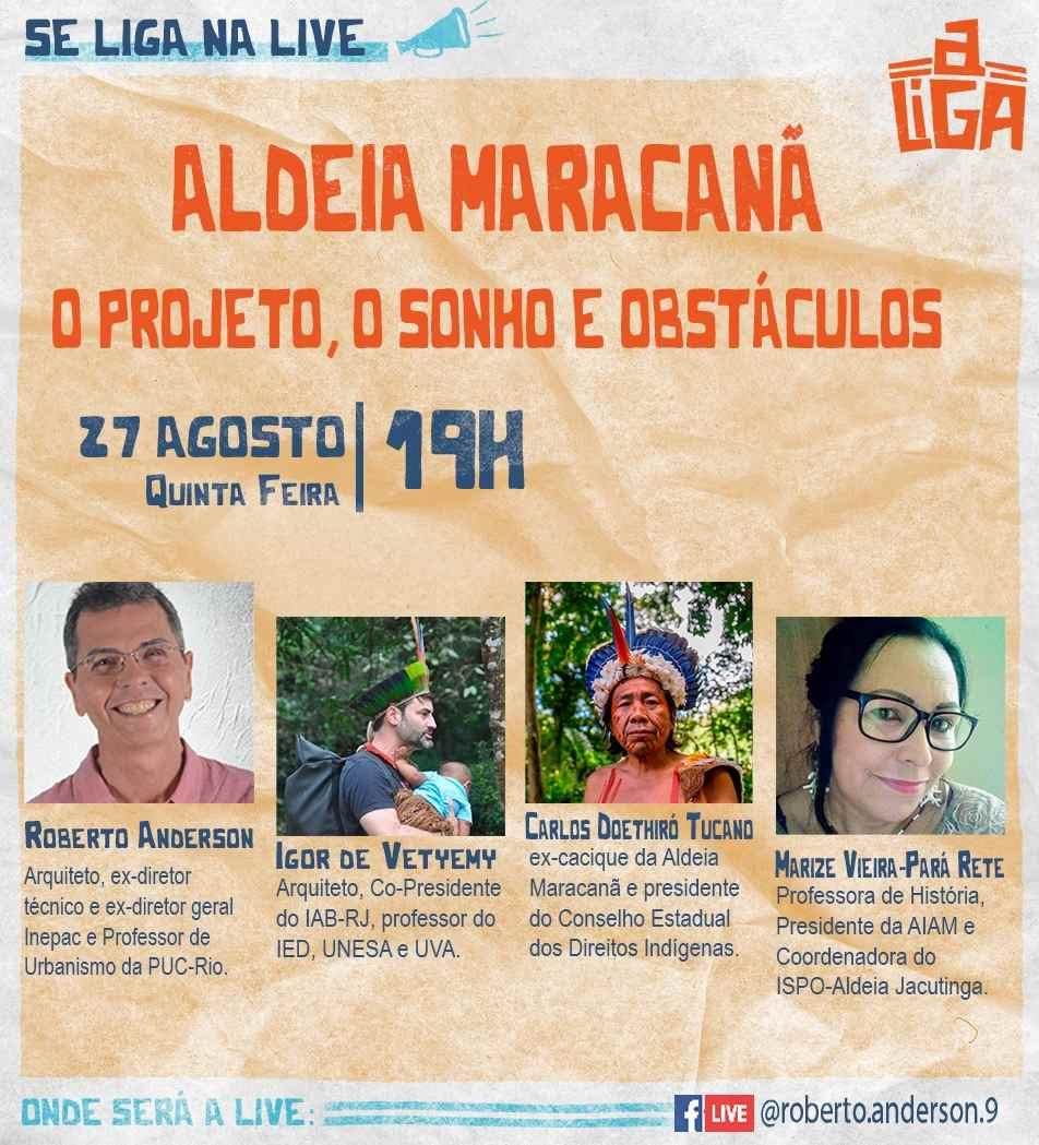 Aldeia Maracanã em debate