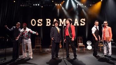 """Cena do musical """"Os Bambas"""""""