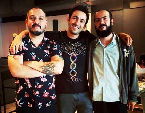 sinestéticas Anderson Antonangelo, Taynnã de C. Santos e Vitor Varella