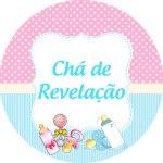 ADESIVO ÁGUA REDONDA CHÁ DE REVELAÇÃO