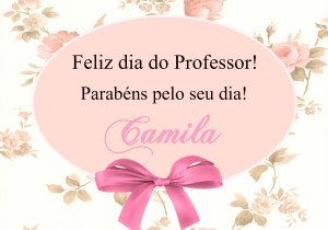 TAG DE AGRADECIMENTO DIA DO PROFESSOR