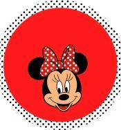 Kit Digital Minnie Vermelha