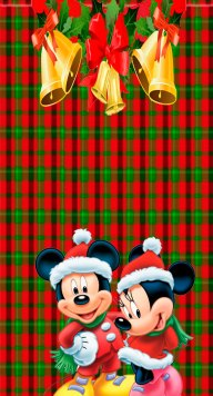 natal mickey e minnie