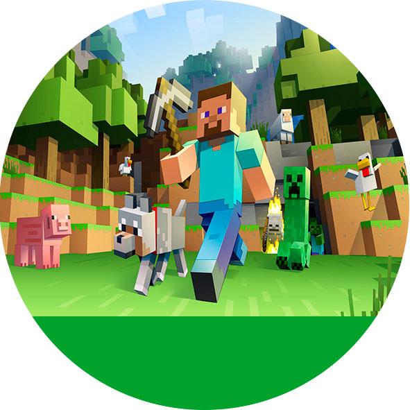 Minecraft Kit Digital Gratis Para Imprimir Viver Com Criatividade