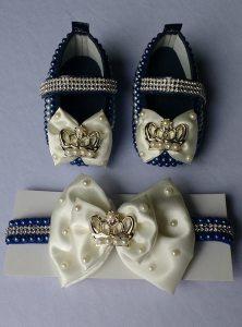 curso sapatinhos e faixas para bebê