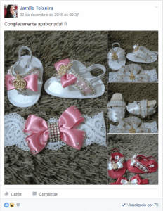 sapatos para bebê