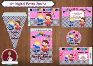 KIT FESTA DIGITAL FESTA JUNINA