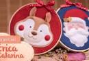 Bastidor de Natal e Enfeites Natalinos 2