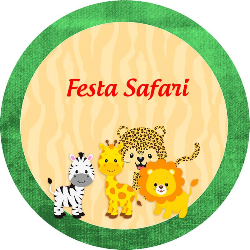 Convite Animado Safari Para Baixar E Editar Grátis Viver Com