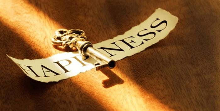 a chave para felicidade