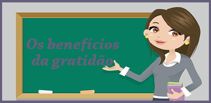 os benefícios da gratidão