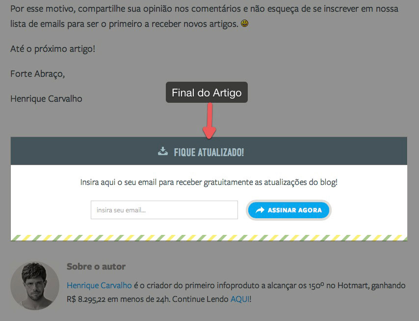 lista de email final do post O Poder do Email Marketing: Como Criar uma Lista de Email Poderosa