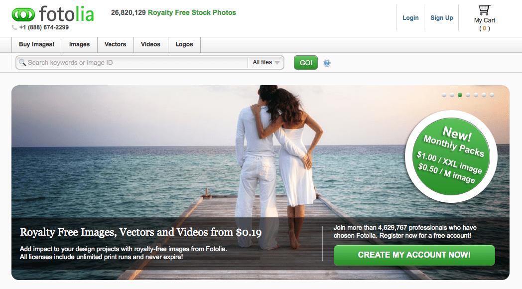 fotolia Imagem para blog: 20 Sites onde Você Pode Encontrar