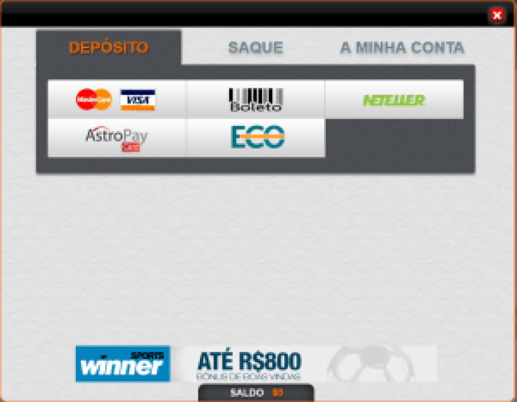 Winner - deposito