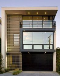 fachada casas pequenas modernas casa pequena simples ideias lindas madeira minimalista