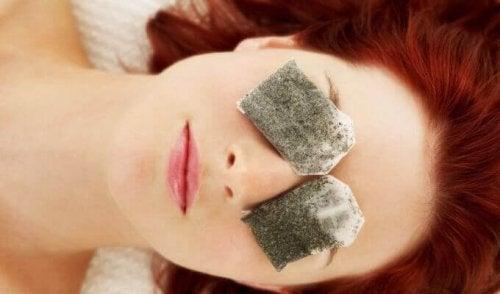 Risultati immagini per bustine usate di the o camomilla