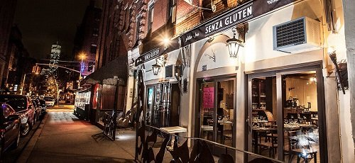 Gluten-free restaurants and cafes in New York City