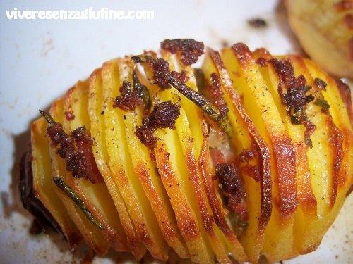 Gluten-free Hasselback potatoes