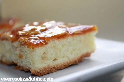 Gluten-free squares citrus and caramel
