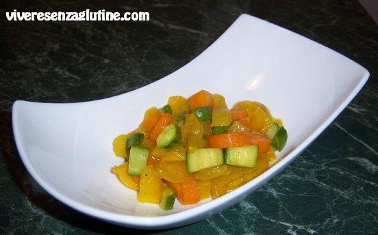 Verdure miste in padella senza glutine