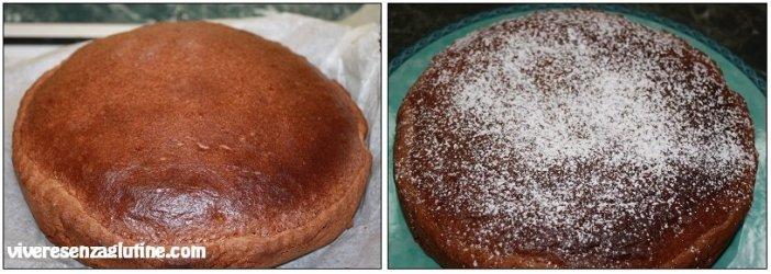 Gluten-free hazelnut tart